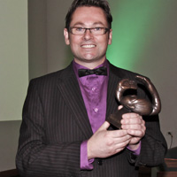 Gareth Farr - composer - NZ Arts Laureate Award 2010