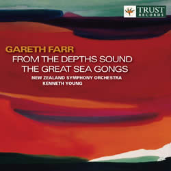 Gareth Farr - Sea Gongs Recording - NZ Composer