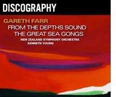 Gareth Farr - composer - discography