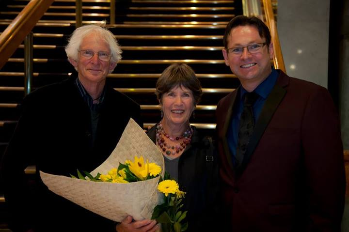 Don, Jan and Gareth at NZSO Concerto