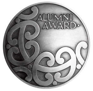 University Auckland Alumni Award Medal