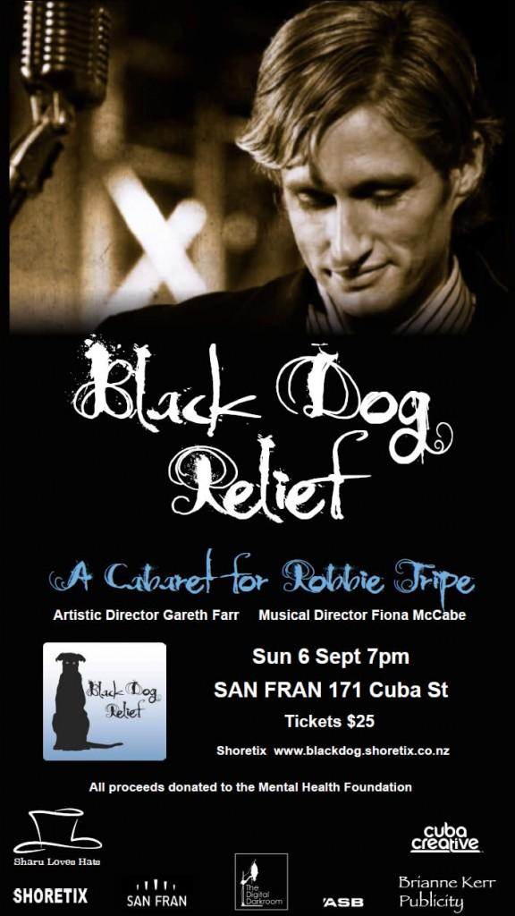 Black Dog Relief Robbie Tripe Gareth Farr
