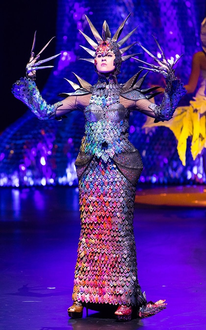 World of Wearable Arts 2019 Open section Music By Gareth Farr